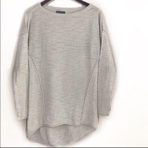 Michael stars hi low knit sweater